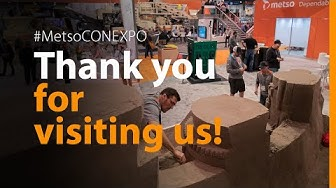 Selected moments from #MetsoCONEXPO 2020