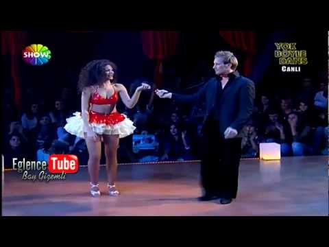 Almeda Abazi on Dancing With The Stars Turkey 2012