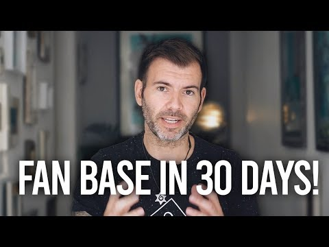MUSIC MARKETING – BUILD A FANBASE IN 30 DAYS!