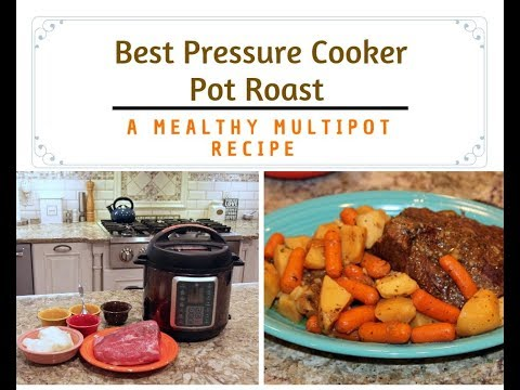 Best Pressure Cooker Pot Roast Recipe #MealthyMoms
