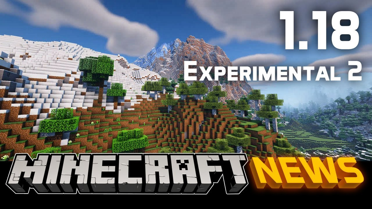 What's New in Minecraft 1.18 Experimental Snapshot 2?