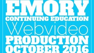 October Webvideo promo