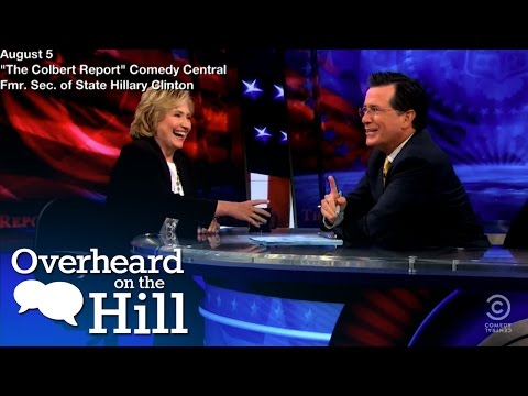 Clinton And Colbert Drop Some Names | Overheard On The Hill | msnbc