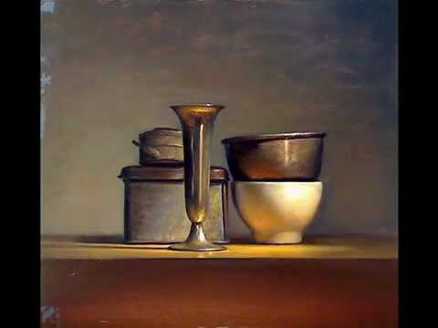 Still life painting demo old master style