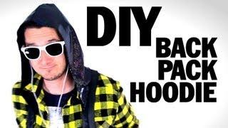 DIY BackPack Hoodie