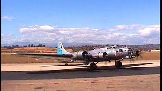 Boeing B-17G Flying Fortress Sentimental Journey, Camarillo Airport, May 16, 2000