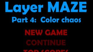 Layer Maze 4 Level1-5 Walkthrough