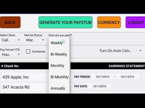 PayCheck Paystub Calculator Pro Apps On Google Play