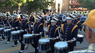 Notre Dame Marching Band March Out 2015 vs Texas Longhorns