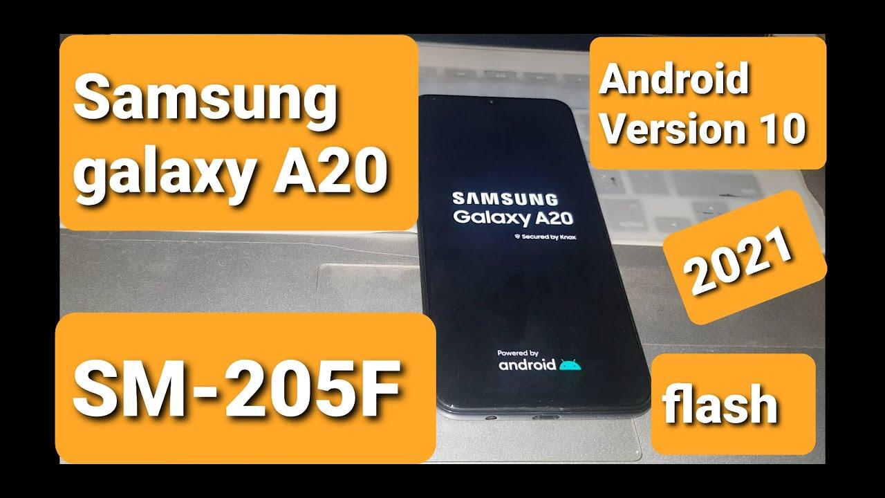 samsung galaxy a20 [SM-A205F] flash