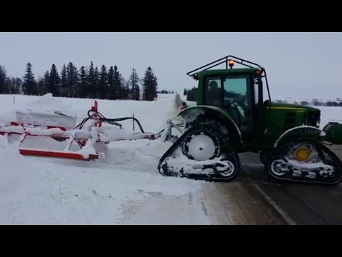Grooming Iowa Snowmobile Trails