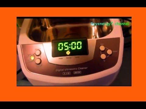 Commercial Ultra Sonic Cleaner for Making Liposomal Vitamin C