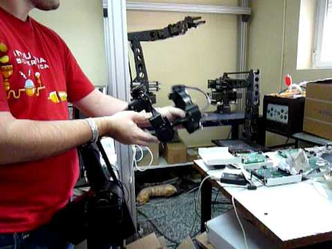 Grips Kraft Telerobotics Postiton-Position wrist pitch