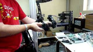 Grips Kraft Telerobotics Postiton-Position wrist pitch