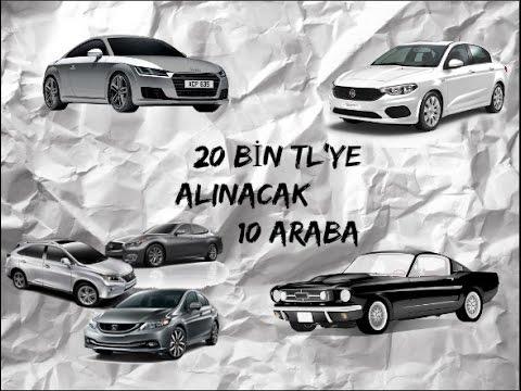 """20 bin tl'ye """"zengİn"""" gösterecek 10 araba sahibinden (2017"""