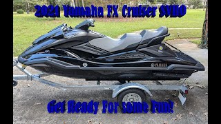 Testing the 2021 Yamaha FX Cruiser SVHO
