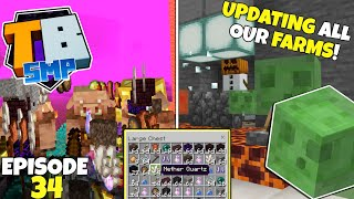 Truly Bedrock S2 Ep34! Piglin Bartering And Slime Farms! Bedrock Edition Survival Let's Play!