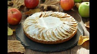 ТВОРОЖНЫЙ ПИРОГ с Яблоками ✧ Apple Cottage Cheese Pie Recipe ✧ Lorlu Elmalı Kek Tarifi