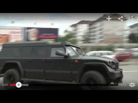 DARTZ in The November Man TRAILER 1 2014   Pierce Brosnan, Olga Kurylenko Movie HD
