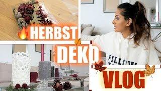 Herbst 2018 🍁Deko Vlog - wie mein Wohnzimmer jetzt aussieht I Tamtam Beauty
