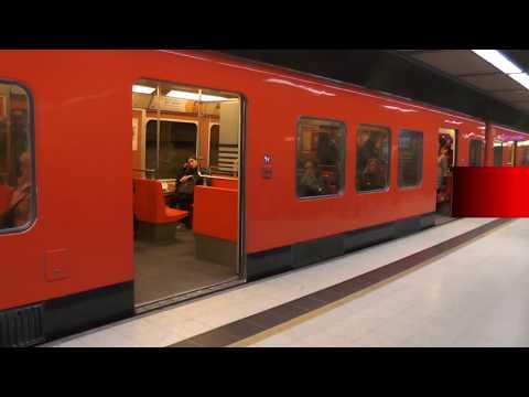 Helsinki Metro M100 Train ride: Mellunmäki-Central Railway Station