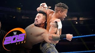 Raul Mendoza vs. Lio Rush: WWE 205 Live, Nov. 1, 2019