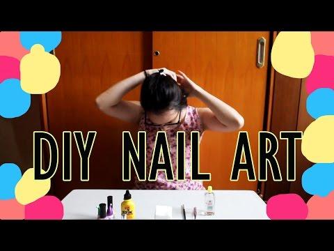 NAIL ART PAKE LEM