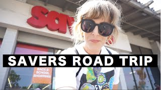 COME THRIFTING WITH ME// SAVERS THRIFT SHOPPING ROAD TRIP