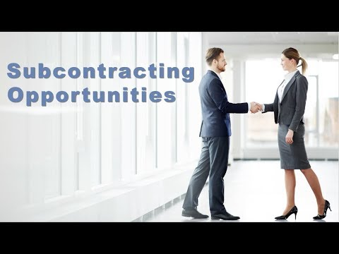 Doing Business With GSA - Subcontracting