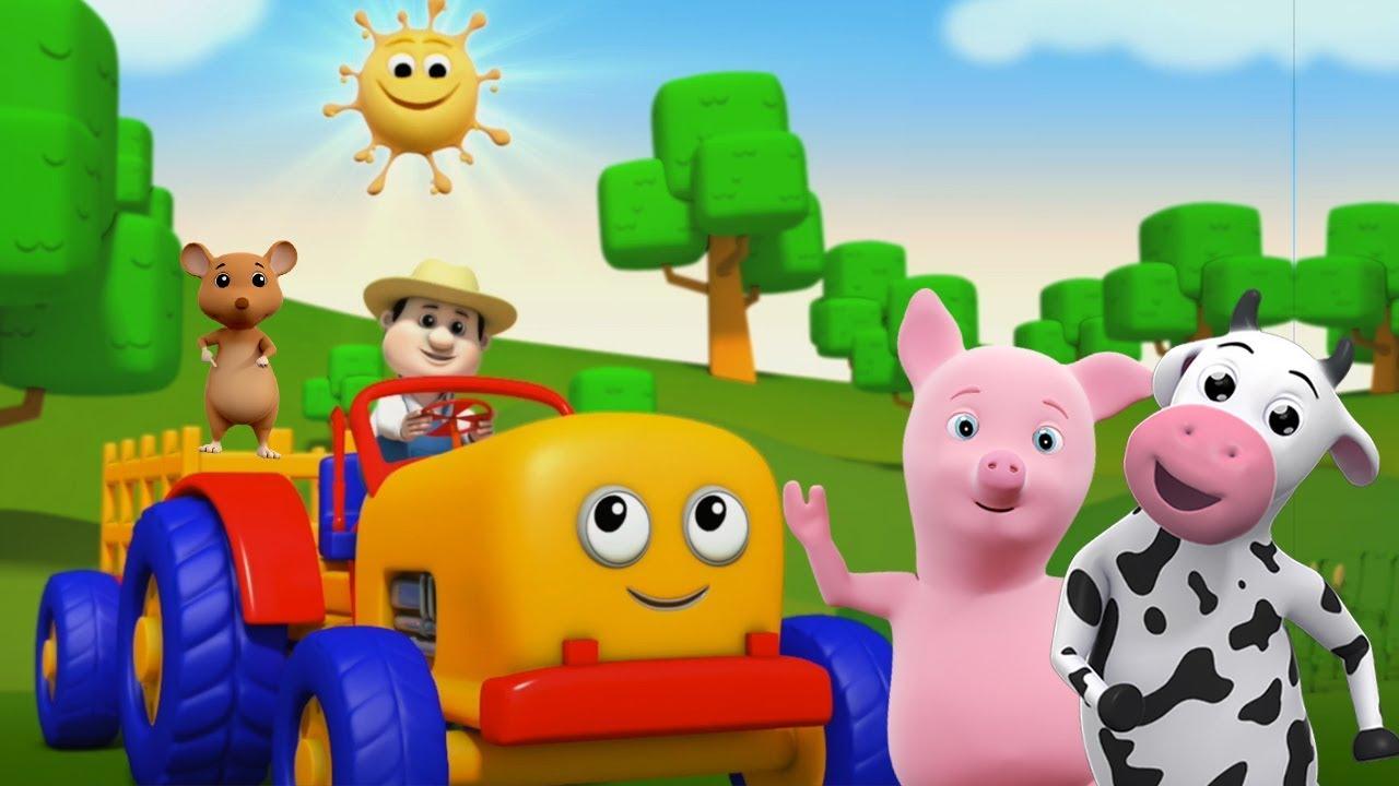 traktorlied kinderreime f r kinder lernen landwirtschaftliche fahrzeuge tractor song youtube. Black Bedroom Furniture Sets. Home Design Ideas