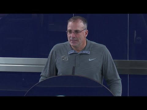 Football | Pat Narduzzi Press Conference - 11/13/2017