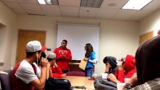 Valencia High School Varsity Baseball team pulls prank on head coach