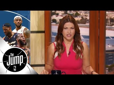 Rachel Nichols: A history of LeBron James being clutch  The Jump  ESPN