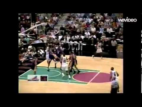 Rookie Tony Parker 19yrs old - 24pts/5 assists vs Lakers (2002 WCSF game 3)