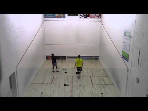 2014 Barbados Veterans National Squash Championships - Semi-Final - Gill Vs White