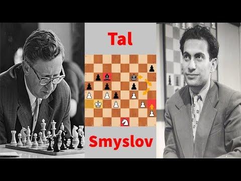 In the Opponent's Style | Vasily Smyslov vs. Mikhail Tal, 1964 USSR Team Championship