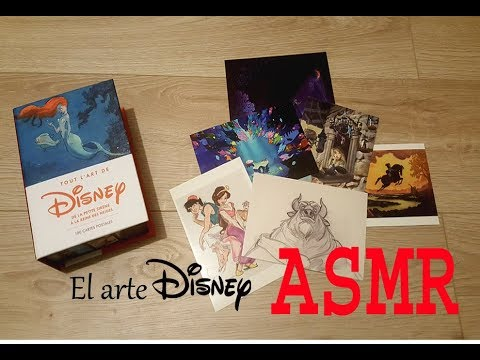 ASMR Español 🌘 :  El Arte Disney ( Show & Tell )