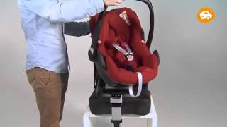 Maxi-Cosi l Pebble car seat | How to install