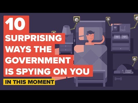 10 Surprising Ways the Government is Spying on You