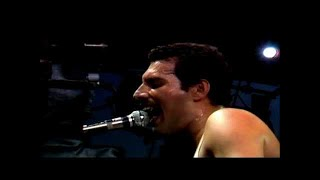 queen play the game live at milton keynes bowl 1982