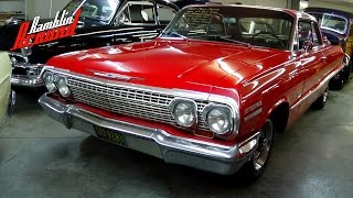 1963 Chevrolet Impala 2dr Hardtop V8