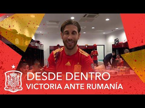 DESDE DENTRO | ¡Así celebró la Selección su histórica victoria ante Rumanía!