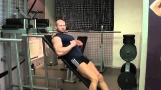 Накачать пресс. Упражнение на прямую мышцу и нижнюю часть живота. Похудение, диета
