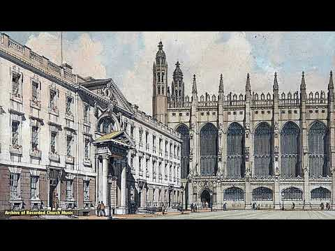 BBC Choral Evensong: King's College Cambridge 1960 (David Willcocks)