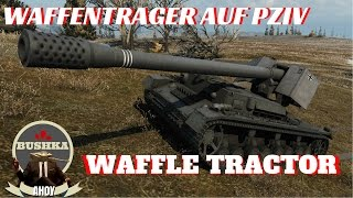 Waffle Tractor   Awkward and Angry   World of Tanks Blitz