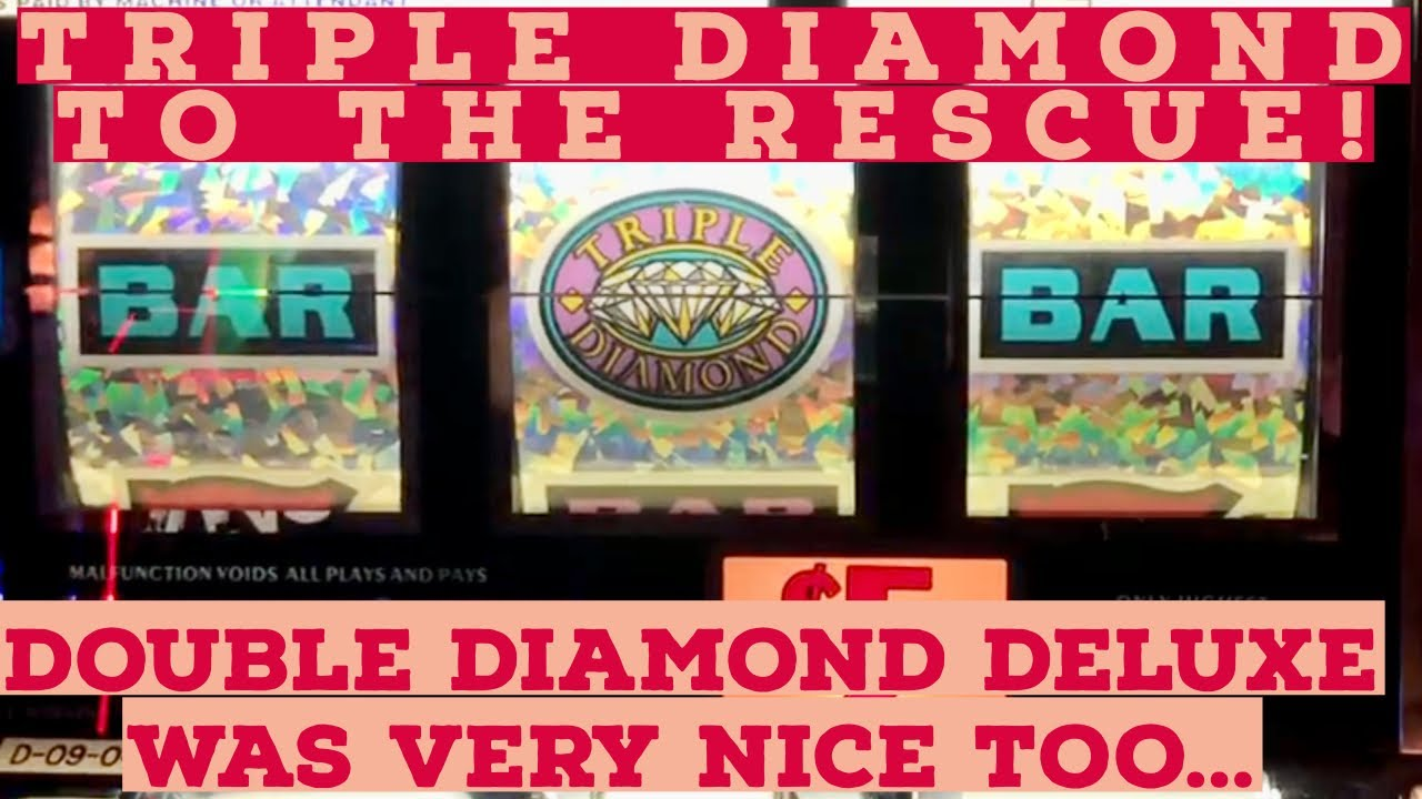 Old School Slots Presents $20 Triple Sapphires Double💎Deluxe & Haywire $10 Triple Diamond 5X 10X Pay