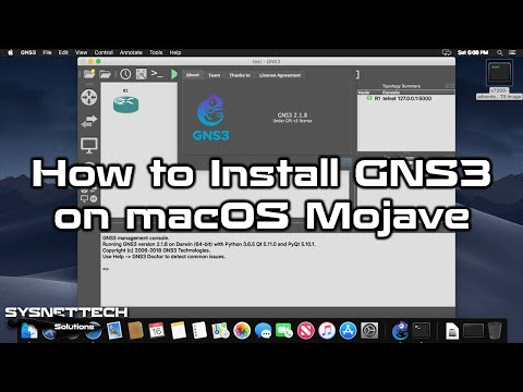 ✅ How to Install GNS3 on macOS Mojave 10 14 | How to Use