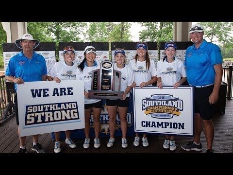 Women's Golf - Southland Individual and Team Awards