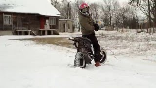 Yamaha Neos | Winter Riding | GoPro Hero 3