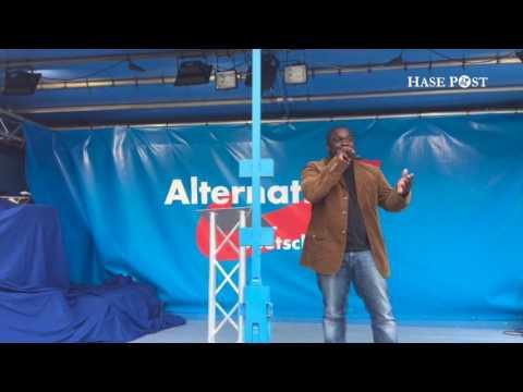 Serge Menga bei der AfD in Osnabrück (kompletter Mitschnitt)